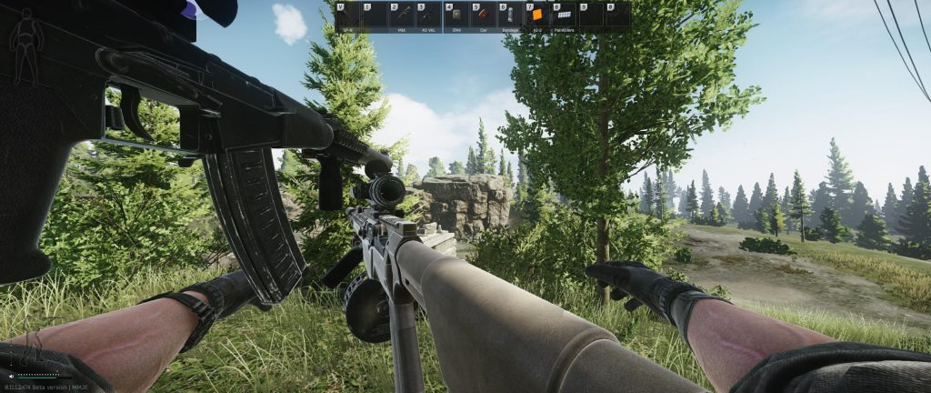 Get better at Escape from tarkov game through hacks